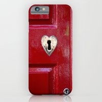 Heart Shaped Lock iPhone 6 Slim Case
