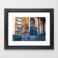 SICILIAN FACADE In CATAN… Framed Art Print