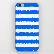 Blue Stripes iPhone & iPod Skin