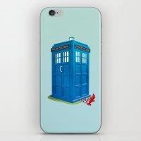 Worlds Collide iPhone & iPod Skin