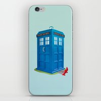 Worlds Collide iPhone & iPod Skin