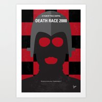 No367 My Death Race 2000… Art Print