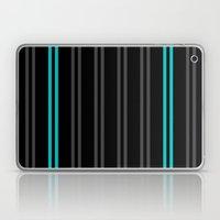 Charcoal Gray/Teal/Black… Laptop & iPad Skin