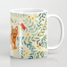 minou jaune (this yellow cat) Mug