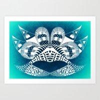 Ubiquitous Bird Collection1 Art Print
