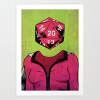 D20 Art Print