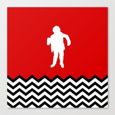 Black Lodge Dreams: Man From Another Place (Twin Peaks) Canvas Print
