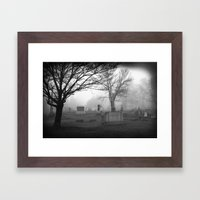 They're coming to get you Barbara... Framed Art Print