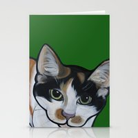 Callie the Calico Stationery Cards