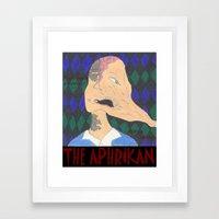 The Aphrikan Framed Art Print