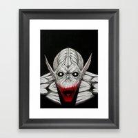 Night Terror Framed Art Print