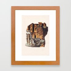 Collage #29 Framed Art Print