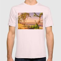 Time For A Picnic On A W… Mens Fitted Tee Light Pink SMALL