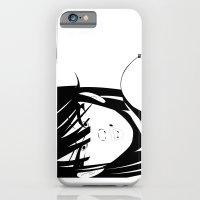 Pop 01 Close Black iPhone 6 Slim Case