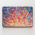 SPLASH - WOW Dash of Cheerful Color, Bold Water Waves Theme, Nature Lovers Modern Abstract Decor iPad Case