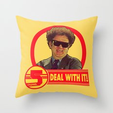 DEAL WITH IT! | Channel 5 | Brule Throw Pillow