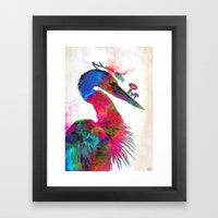 Carae Framed Art Print