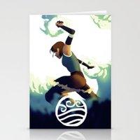 Avatar Korra II Stationery Cards