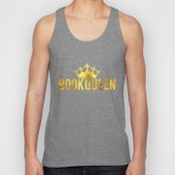 Book Queen Unisex Tank Top
