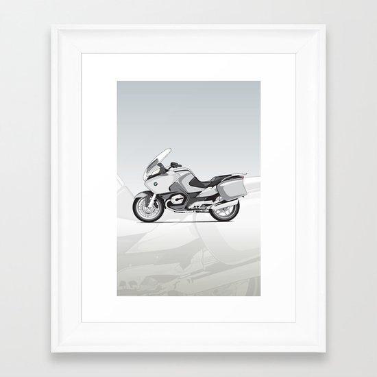RT-1200 (Dad's Ride) Framed Art Print