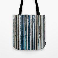 Old Vinyl Tote Bag