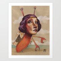 CRABBY Art Print
