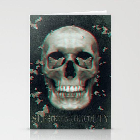 Sleeping Beauty Stationery Card