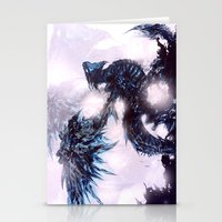 Coldfire Dragon Stationery Cards