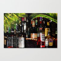 Tropical Bar  Canvas Print