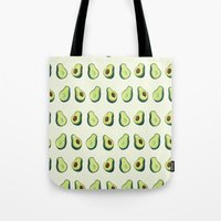 Avacado Pattern 2  Tote Bag