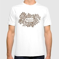 Microfarmer - Gold Mens Fitted Tee White SMALL