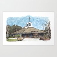 St. James Church, Davis Art Print