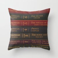 A Narnia Journey Throw Pillow