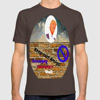 Trumpty Dumpty Sat On A … Mens Fitted Tee Brown SMALL