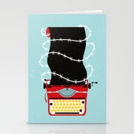 Typer Write Stationery Cards