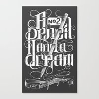 A No.2 And A Dream Canvas Print