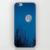 Faded Moon iPhone & iPod Skin