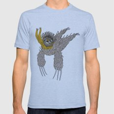 Impulsive Sloth Mens Fitted Tee Athletic Blue SMALL