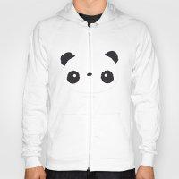 Panda in love  Hoody