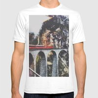 Onward Mens Fitted Tee White SMALL