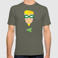 GREEN ARROW Mens Fitted Tee Lieutenant SMALL