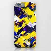 Yellow Intersections iPhone 6 Slim Case