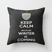 Keep Calm - Game Poster 02 Throw Pillow
