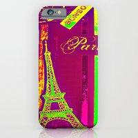 BONSOIR - neon iPhone 6 Slim Case