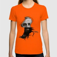 Everything In Its Right … Womens Fitted Tee Orange SMALL