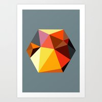 Hex Series 2.1 Art Print