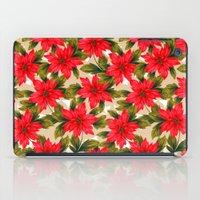 Poinsettia iPad Case