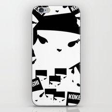 Geometric Print Kokeshi ((s)) iPhone & iPod Skin