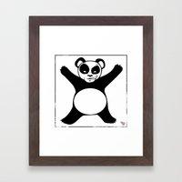 Panda X Framed Art Print