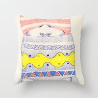 Double-headed Throw Pillow